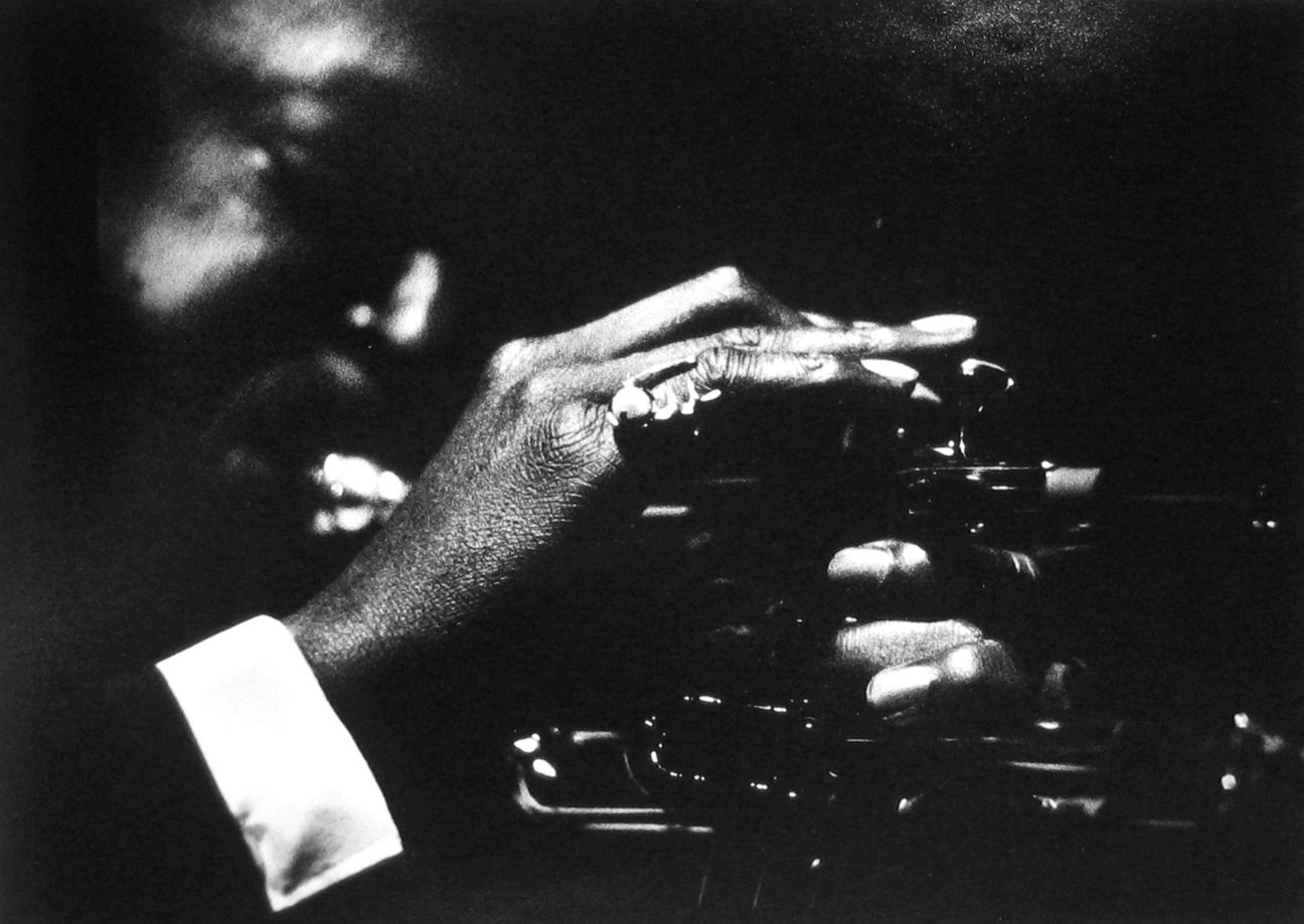 Herman Leonard: Miles Davis, Birdland, NYC, 1953