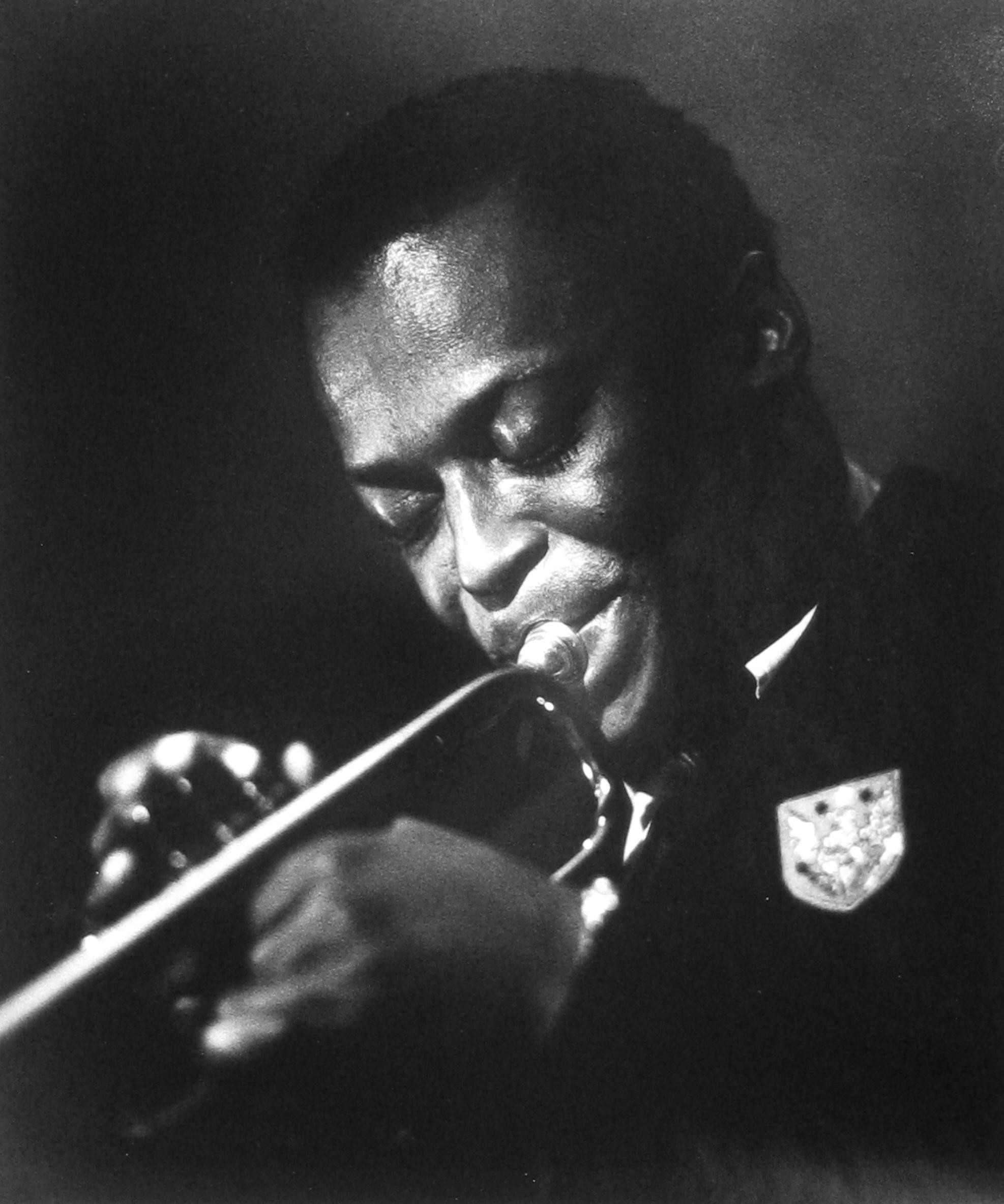 Herman Leonard: Miles Davis, NYC, 1949